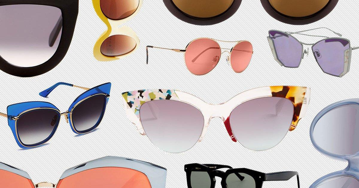 10 flashy pairs of sunglasses to wear now: https://t.co/MDCwPj3kTk https://t.co/ojyaNv0vzg
