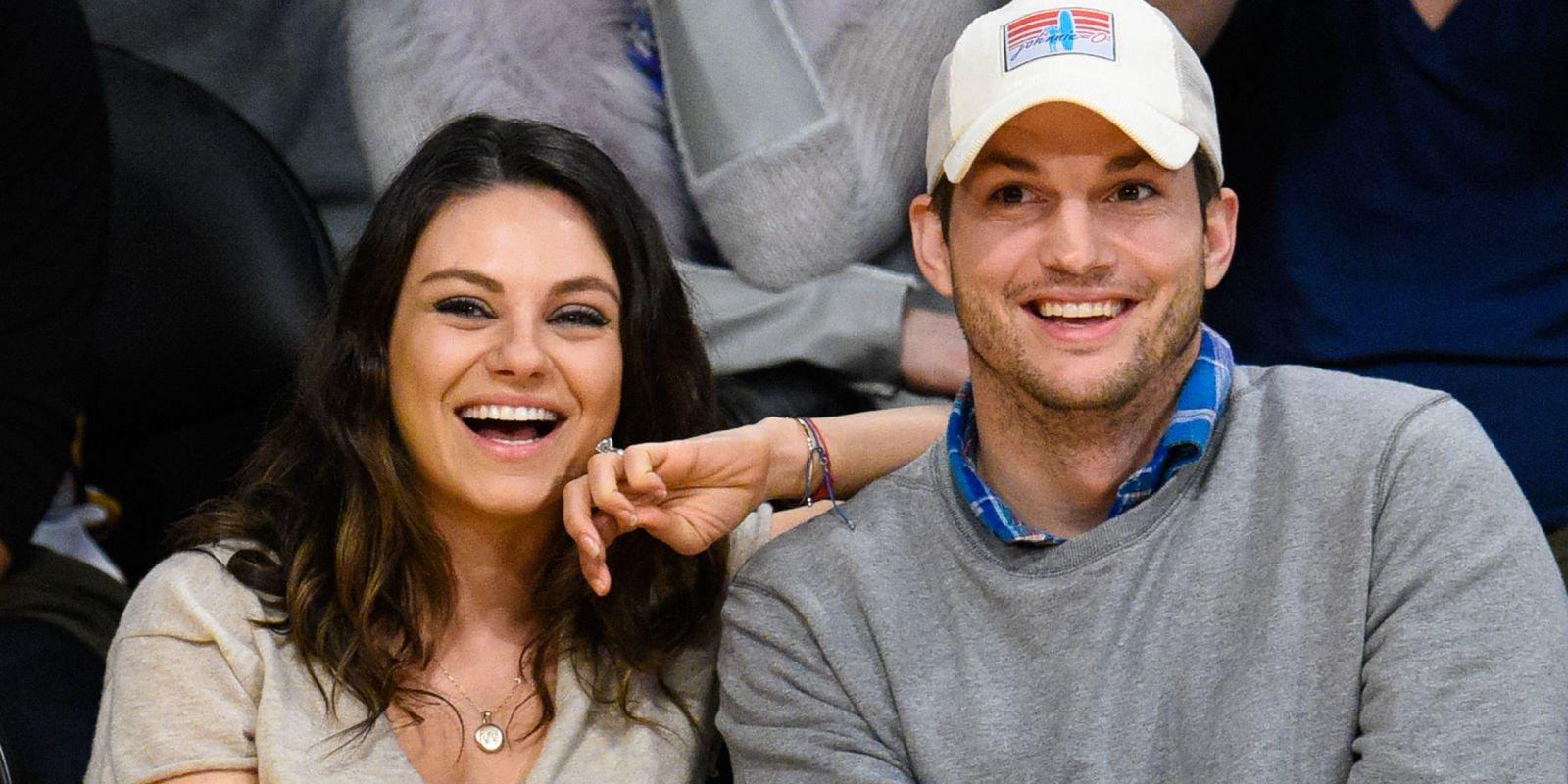 Apparently Ashton Kutcher tried to set Mila Kunis up with his friend originally https://t.co/nOcKpp9oyp https://t.co/m6EnvckdcO
