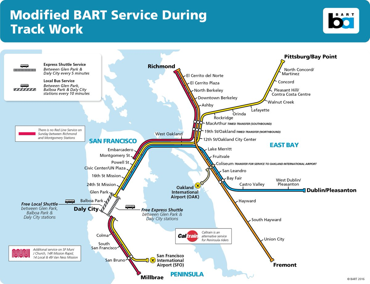 Our upcoming planned track closure will impact SFO riders. Find all the details here
