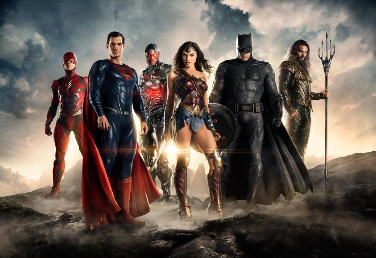 First look at JusticeLeague movie unveiled at San Diego @Comic_Con