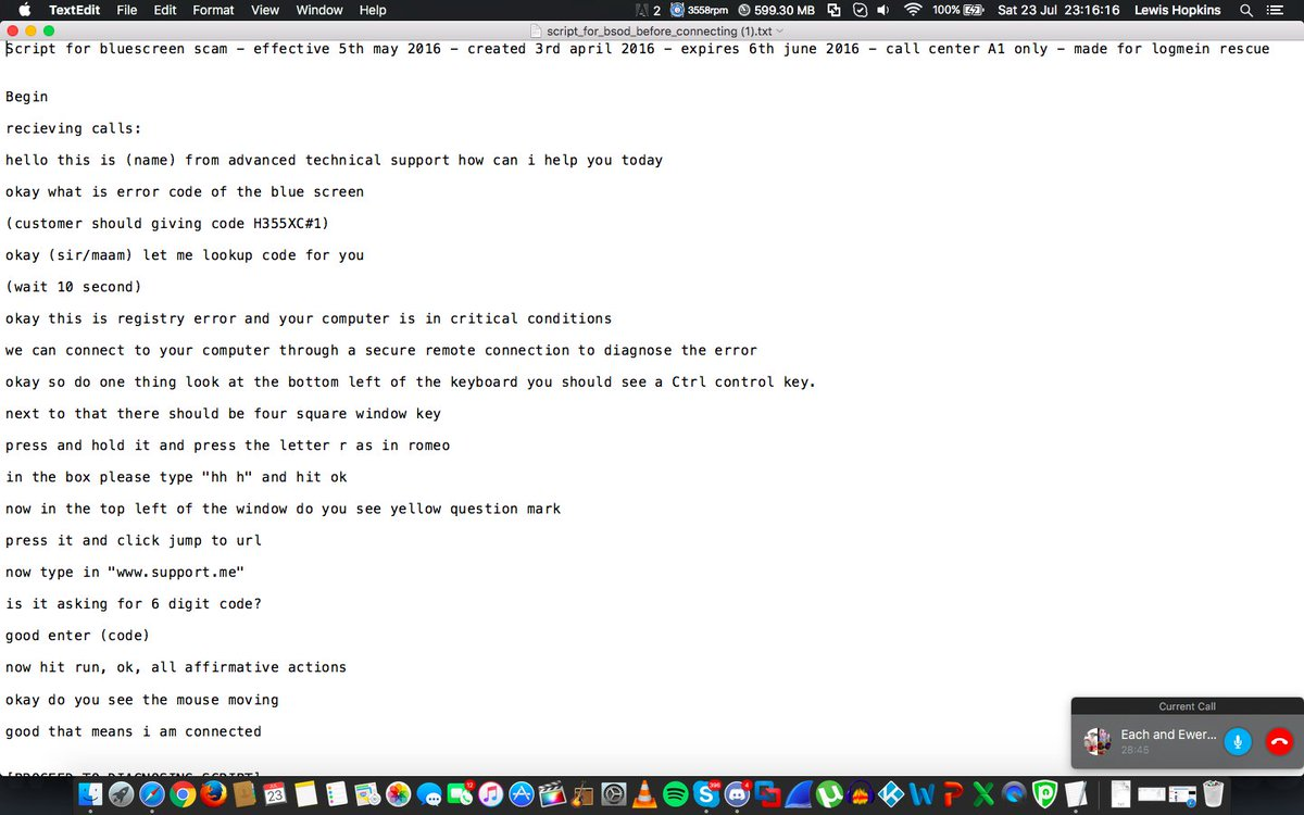 Lewis S Tech On Twitter Scam Script Sent To Sandscammer By Jayesh The Fact That Do One Thing Is In There Xd