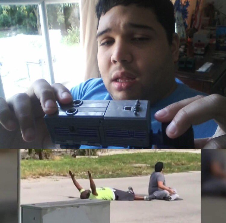 ArnaldoRios was playing w/ his toy truck when police shot his therapist. His mother speaks out. @NBCNightlyNews
