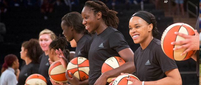 JUST IN: WNBA rescinds fines for players' pregame protests