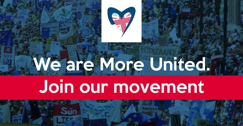 1st Positive campaign I've seen in a while. I'm supporting @moreuniteduk #MoreUnited https://t.co/Wlf5WYi6Y6  https://t.co/ki7IpuqdBx