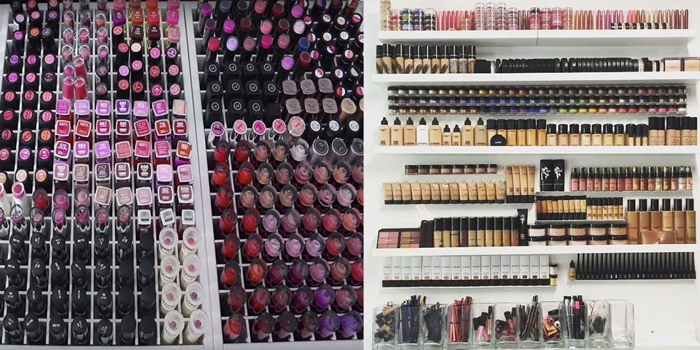 9 of the world's BIGGEST makeup collections guaranteed to make you drool https://t.co/mkrpastq2d https://t.co/P8bDey5M4f