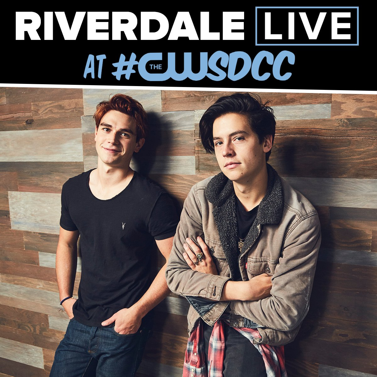 "Riverdale On Twitter: ""Come Aboard The CW Yacht At Comic"