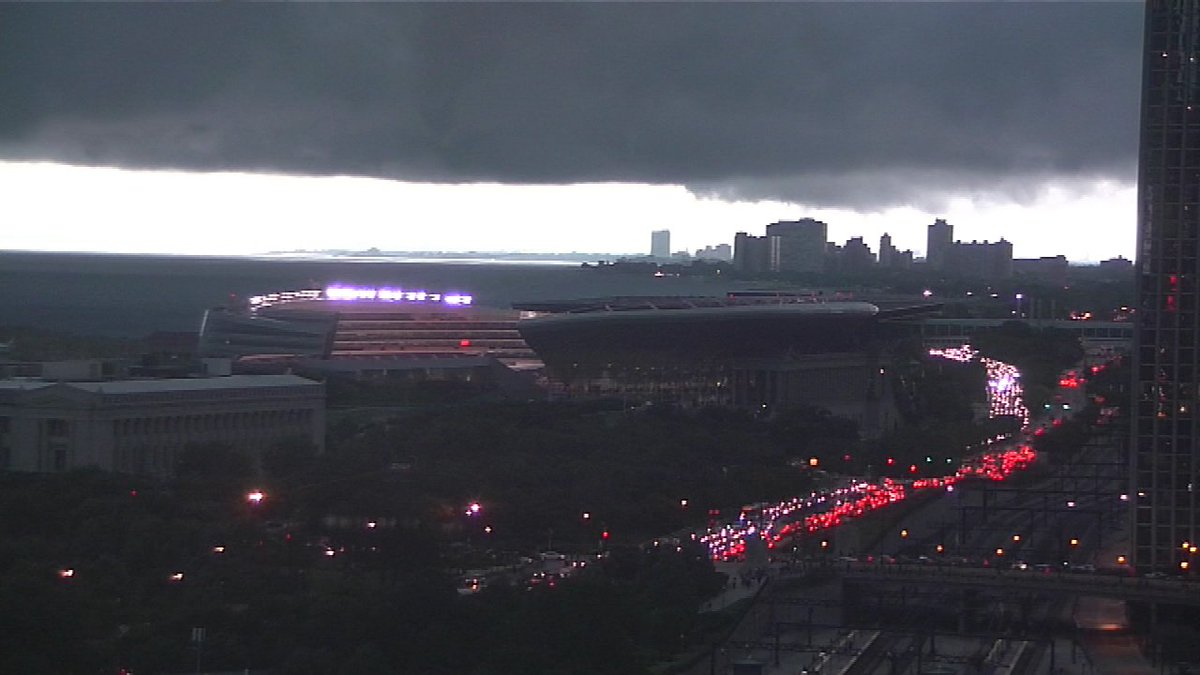Coldplay fans at Soldier Field in Chicago told to take shelter due to severe weather