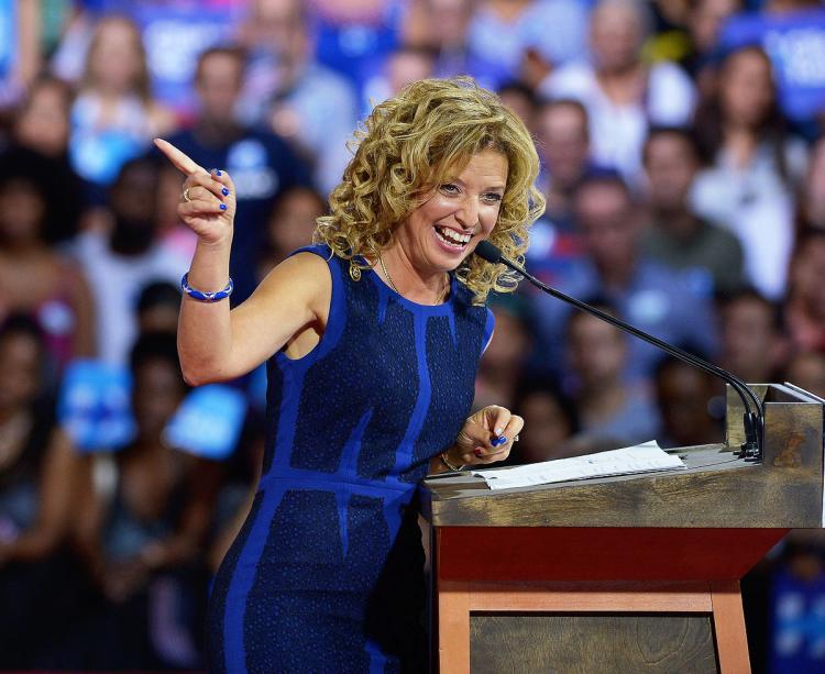 DNC chair Debbie Wasserman Schultz will not speak at convention