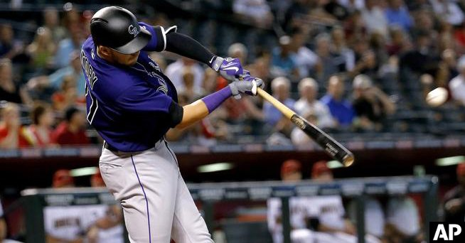 hiSTORY again: Rockies Trevor Story sets NL record for homers by rookie shortstop