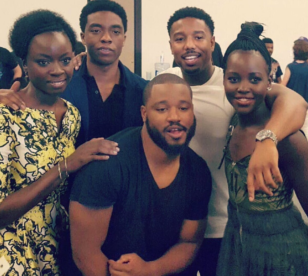Pause what you're doing to drink in the impact these folks'll have on kids moment film's released/#BlackPantherSoLIT https://t.co/2Fj25zqTev