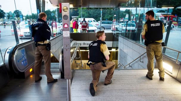 The Munich shooter read up on school shootings in the US before his attack, police say.