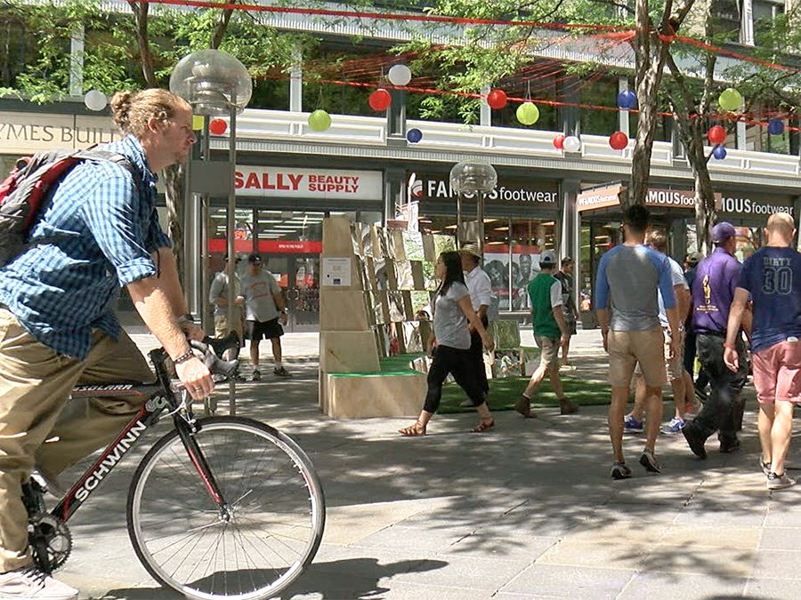 Downtown Denver groups using tech and art to change image of 16th Street Mall