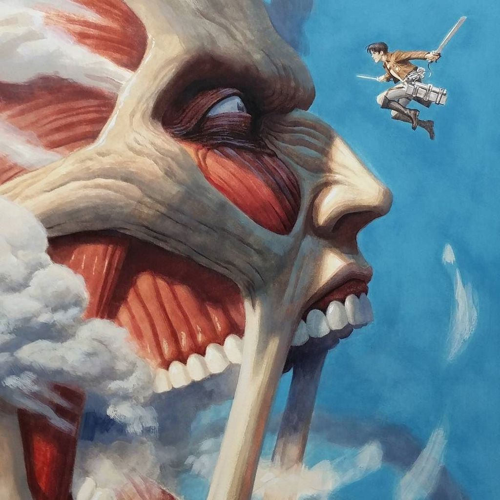 Here's a better look at that #attackontitan cover. https://t.co/866dzCj6hB