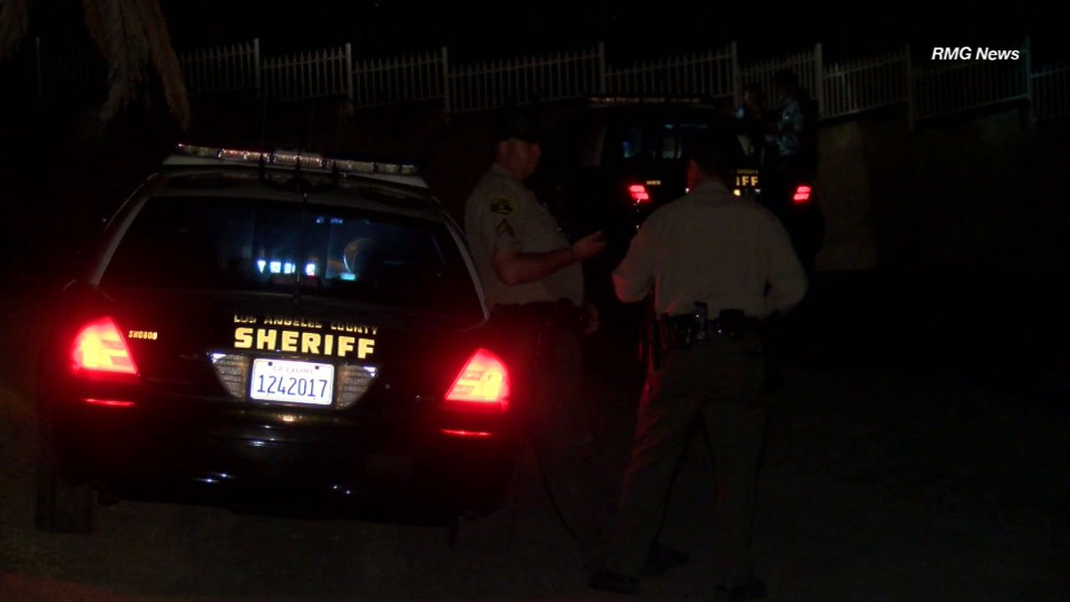 Sheriff's deputies investigating body found near Sand Fire