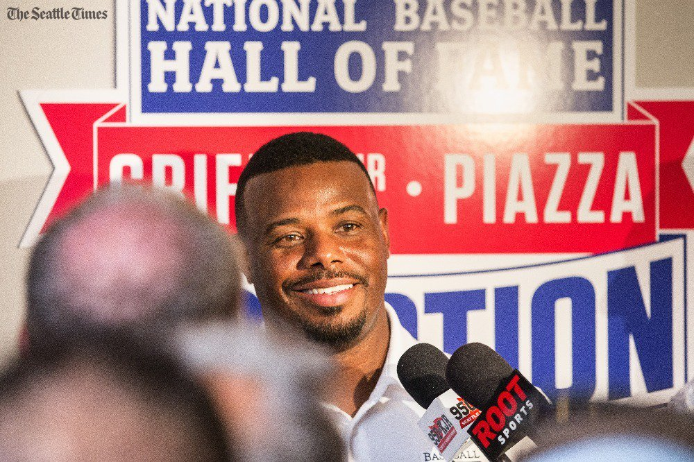 Ken Griffey Jr. gets that the Hall of Fame honor is forever. JRHOF@stonelarry