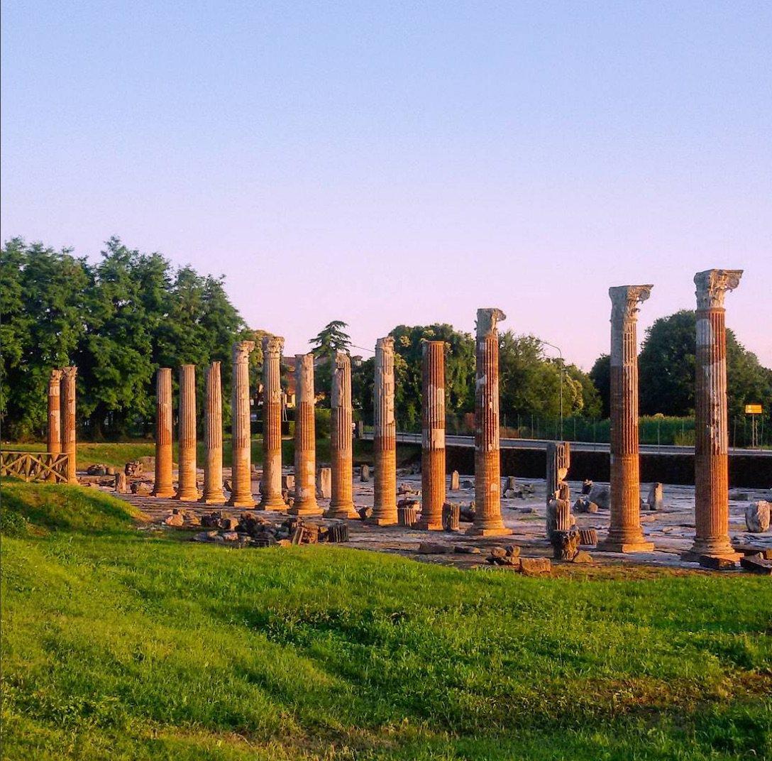 Aquileia in Friuli vale una visita, anche solo per i mosaici o la mostra sugli ori persiani https://t.co/Cxu4X6h1YZ https://t.co/WG5VO6tTyV