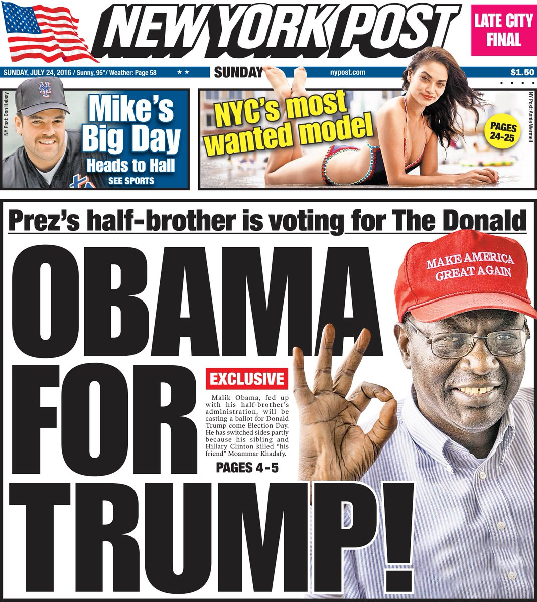 EXCLUSIVE: Why President Obama's half-brother says he'll be voting for Donald Trump