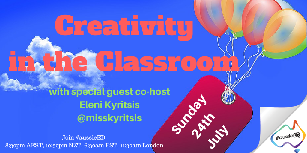 5mins til go time for #aussieED with @misskyritsis https://t.co/O8ynnrjuej