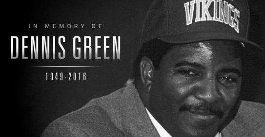 Former Vikings coach Dennis Green dead at 67