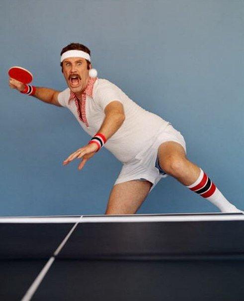 Работника, картинки про настольный теннис смешные