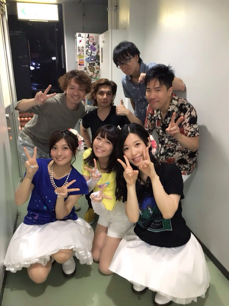 THE IDOLM@STER STATION!!! Summer Night Party!!!の全員集合写真、こちらにも。 #アイステ https://t.co/gePYAGYSii