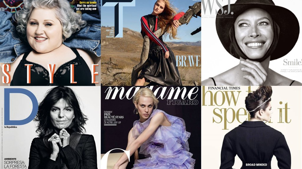 Weekend Read | How newspaper supplements took on fashion magazines https://t.co/Zc8PnQ4MN6 https://t.co/z7W9pew1r0