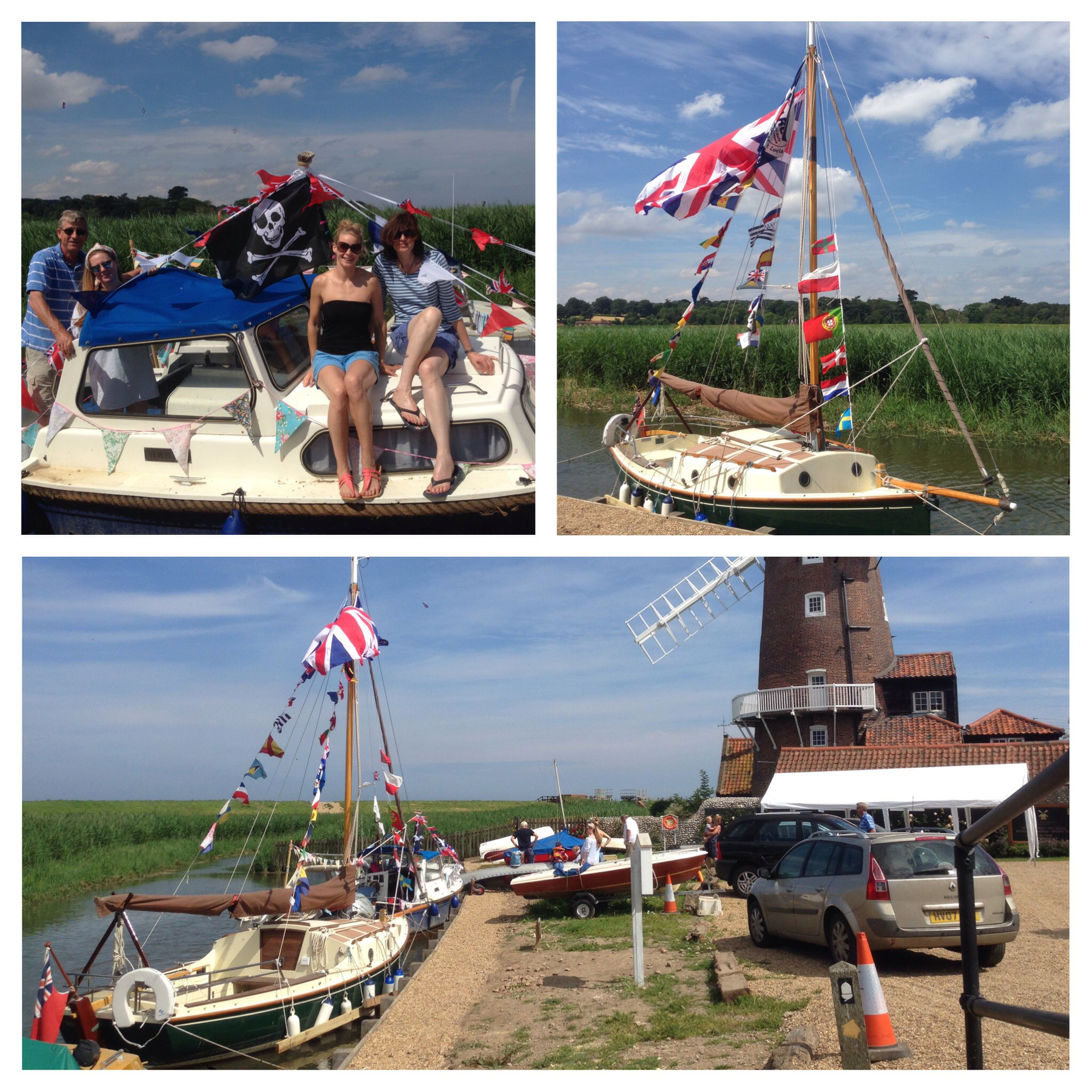 Cley Harbour Day | A boat-themed day out! | Cley quay (near the windmill), Cley-next-the-Sea, Norfolk. Park at village car park NR25 7RJ