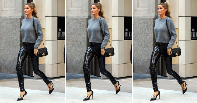 How to *actually* wear leather trousers IRL... https://t.co/Oxh5BzVmEK https://t.co/utHDKv2lLb