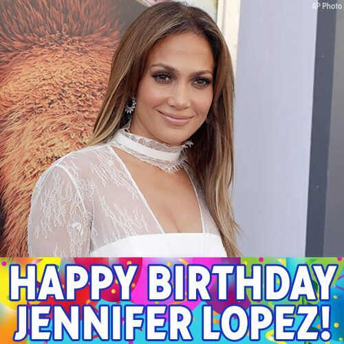 Happy birthday to Jenny from the block! @JLo turns 47 today