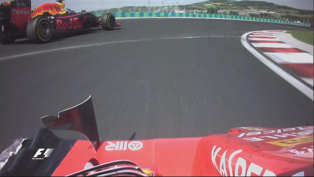 GP Ungheria F1: vince Hamilton, nuovo leader in classifica. Scintille Raikkonen Verstappen (VIDEO)