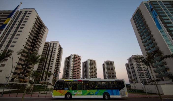 Rio's Athletes Village opens today & Olympians were welcomed with condoms & air conditioning