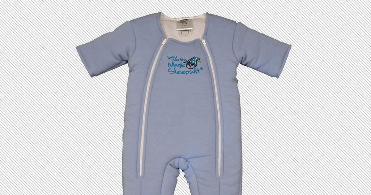A onsie to help your baby sleep, created by a kid's physical therapist and fellow tired mom: https://t.co/aQGzssg0MU https://t.co/Poaj2Y9kw1