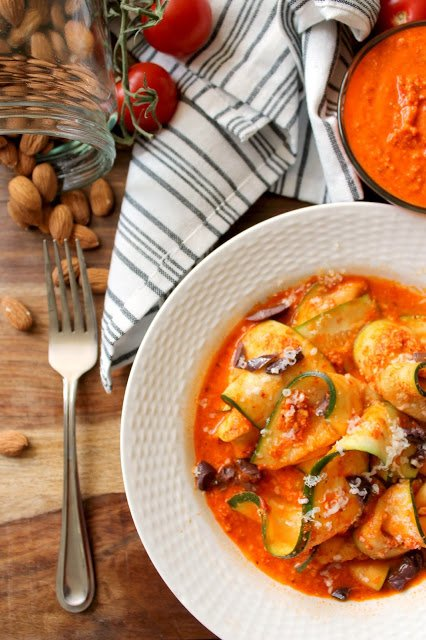Zucchini ribbons romesco will dake your dinners to new, healthy heights: https://t.co/VC7JKDYtmT https://t.co/hKyhFX2tTW