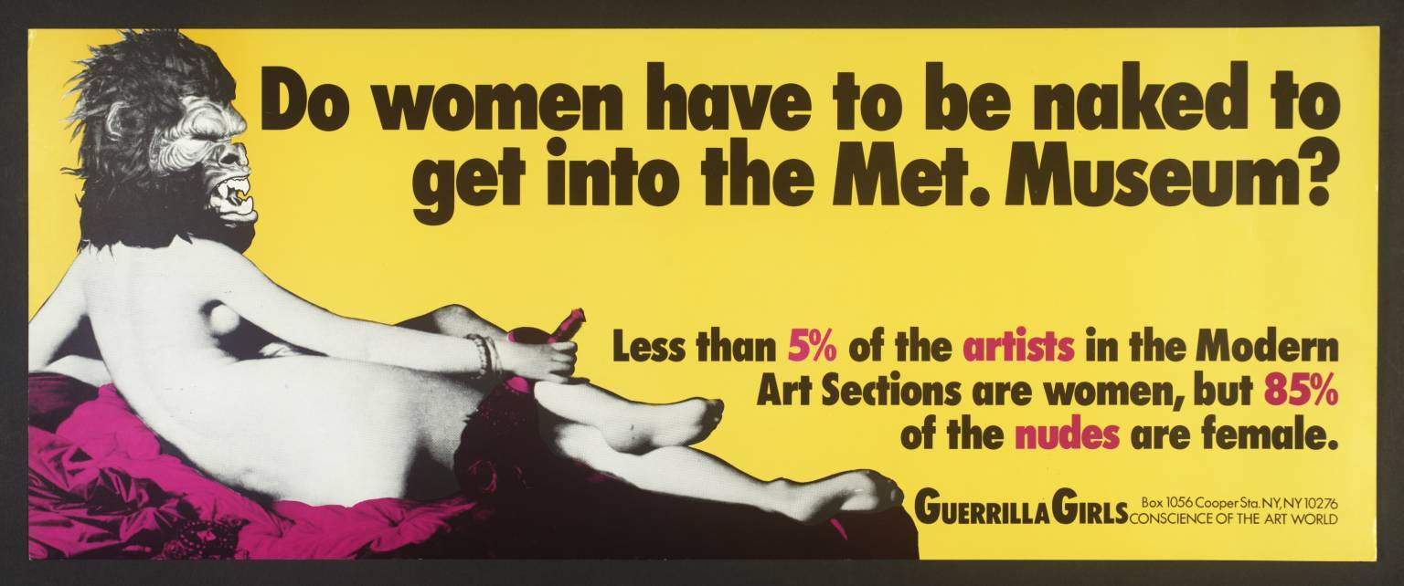 .@guerrillagirls are coming to London this autumn to fight sexism in the European art world: https://t.co/BpJ8PfX77u https://t.co/7OxoVzm3dZ