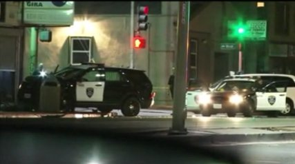 Police in Oakland continue to investigate incident where female officer was shot at following traffic collision