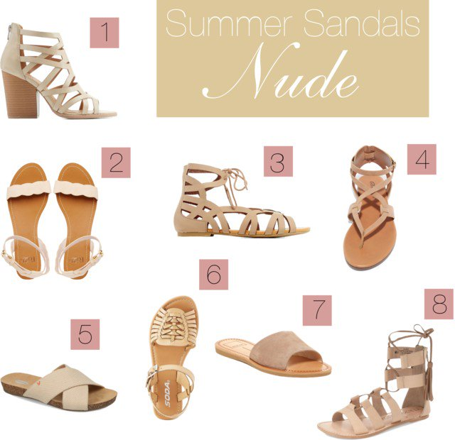 8 nude sandals that will go with any summer outfit: https://t.co/tsGYk1wcVv https://t.co/lFvO3EVLVq