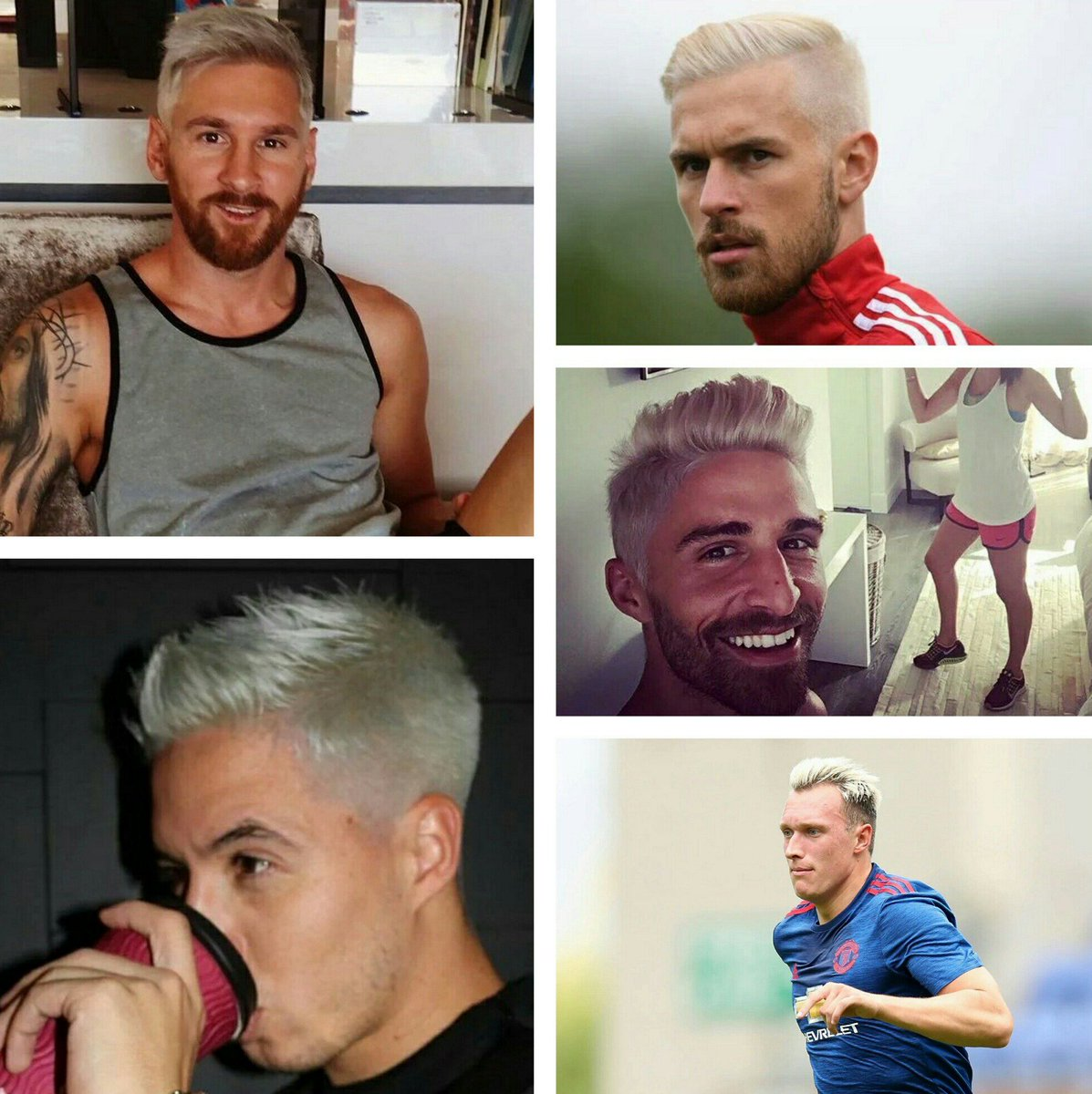 Footy Accumulators On Twitter This Blonde Trend Is Getting