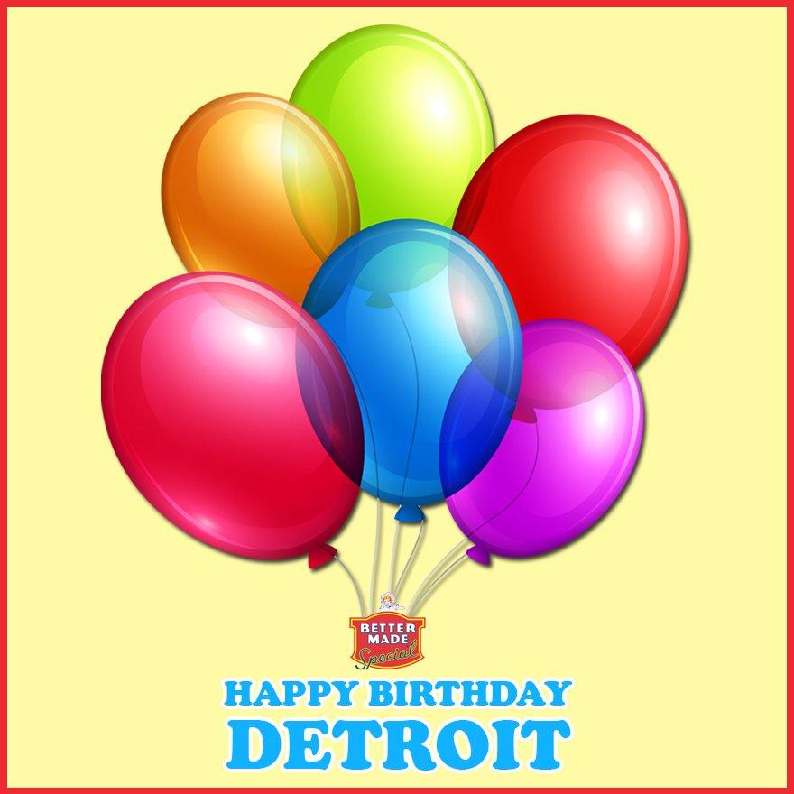 Happy 315th Birthday Detroit! https://t.co/QuREo9ljJH