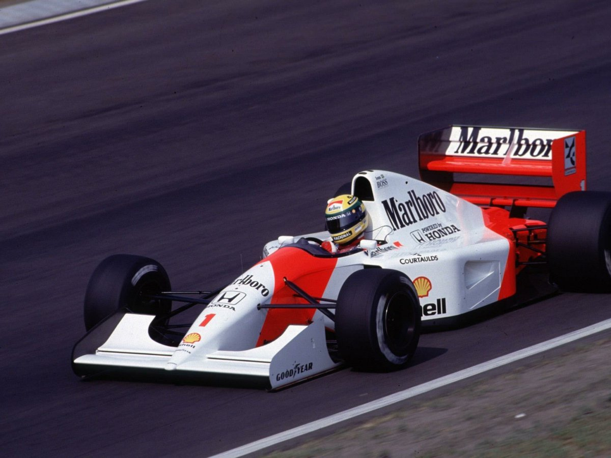 "f1 in the 1990s 🏎 on twitter: ""ayrton senna (marlboro mclaren-honda"