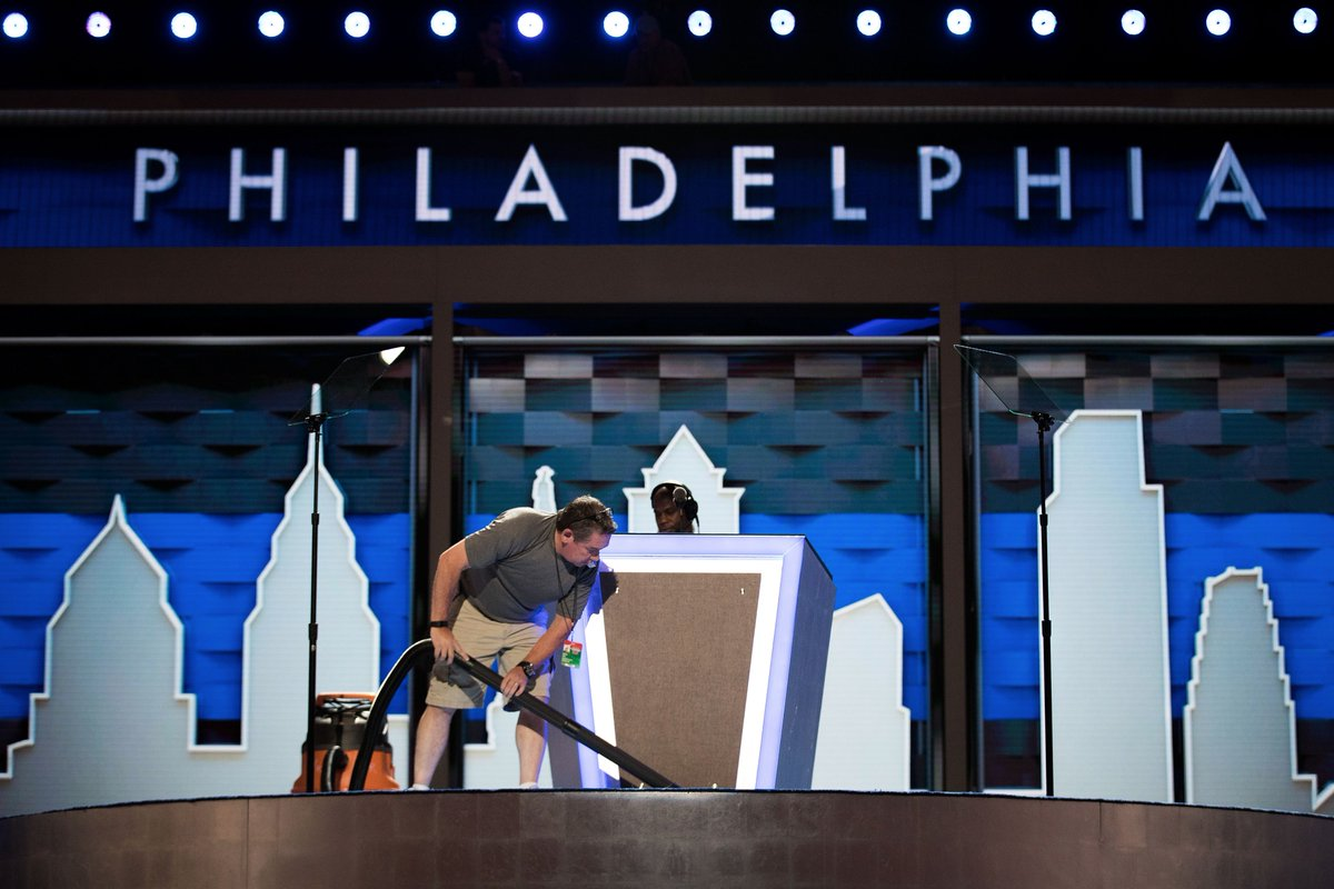 Demonstrations planned in Philadelphia today ahead of Democratic National Convention.