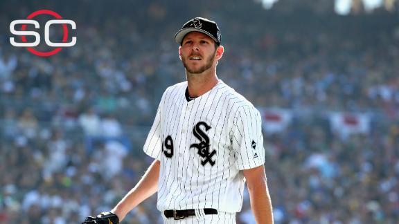 Chicago White Sox suspend ace pitcher Chris Sale