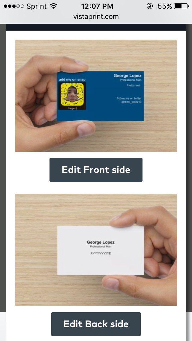 Jorge on twitter million dollar idea business cards with your 1009 am 24 jul 2016 colourmoves