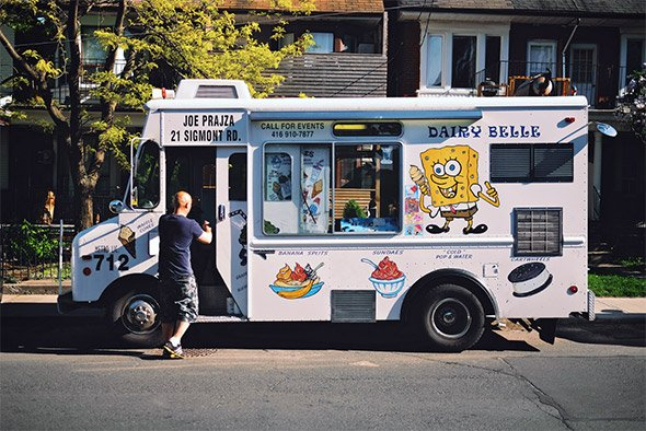 Discover the history of the ice cream truck in Toronto