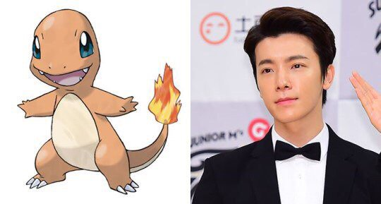 Image result for charmander and donghae
