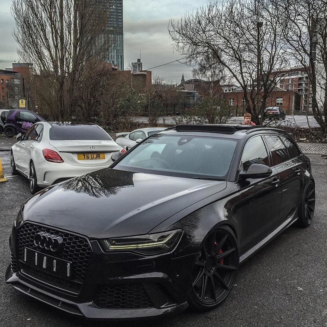 tuning shops on twitter blacked out audi rs6 wagon. Black Bedroom Furniture Sets. Home Design Ideas