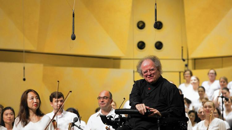 James Levine returns to Ravinia after 23 years to lead Chicago Symphony Orchestra and Chorus