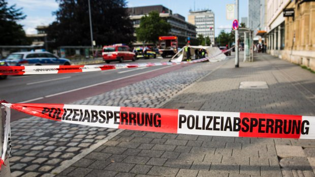 Man in Germany kills woman with machete, wounds two others