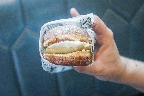 Where to devour donut ice cream sandwiches in Toronto