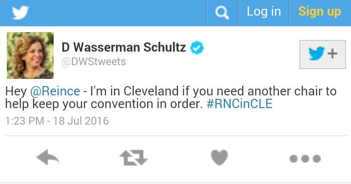 I bet @DWStweets wishes she could have this back...  #DNCinPHL #p2 #tcot https://t.co/HaREu8tKKL