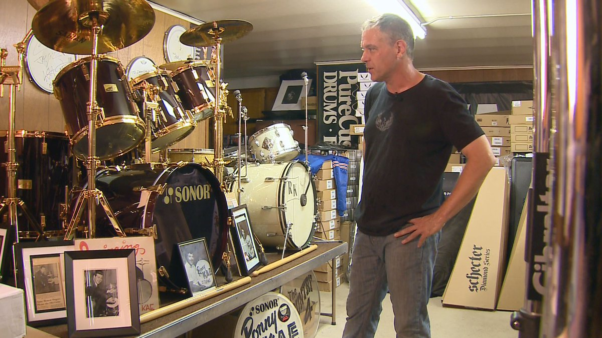 This is the world's most expensive drum kit -- no, it's not for sale. See the story at 10.